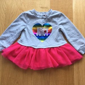 Juicy couture girls top. Size 18m